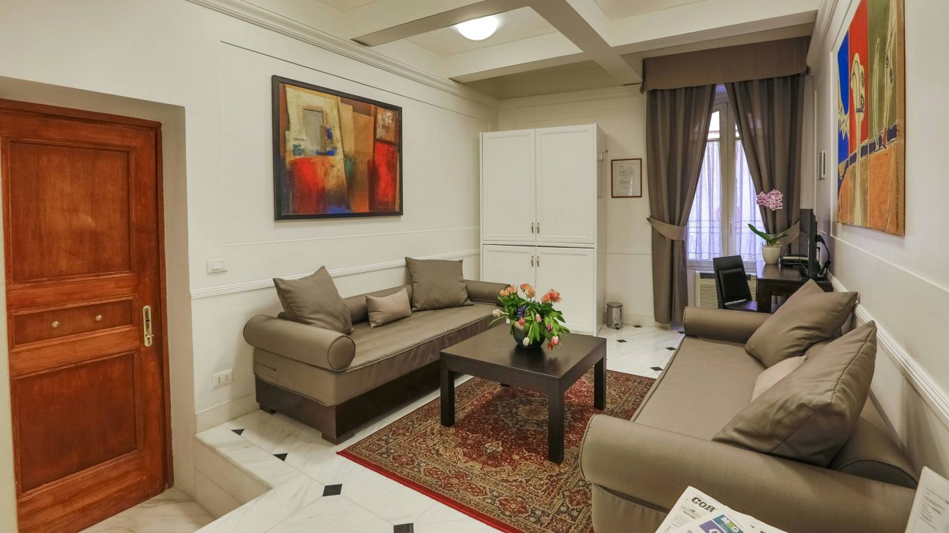 hotel-modigliani-rome-independent-apartment-02